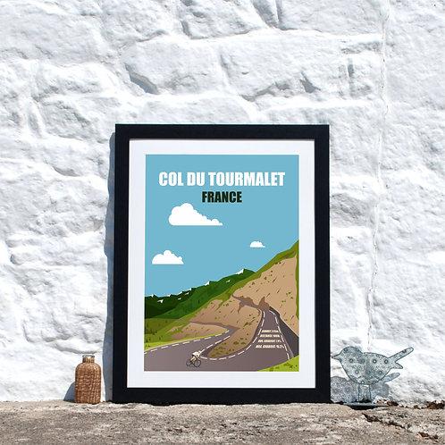 Col du Tourmalet  France Mountain Climb