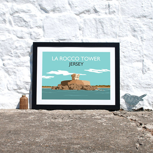 Rocco Tower St Ouen Jersey Print