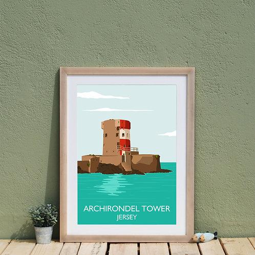 Print of Archirondel Jersey