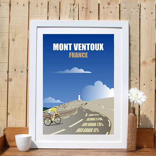 Mont Ventoux France Mountain Climb France