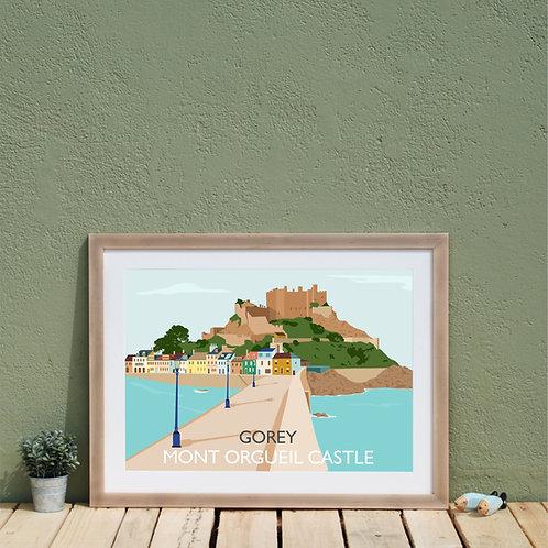 Gorey Print Jersey