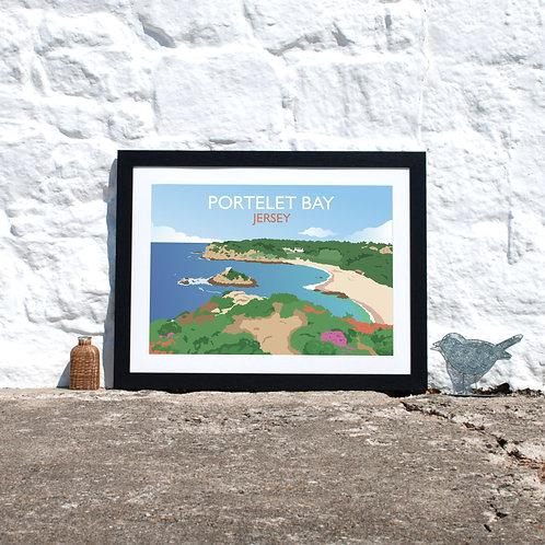 Portelet Bay Jersey Channel Islands