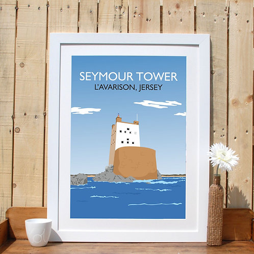 Seymour Tower Print Poster Jersey