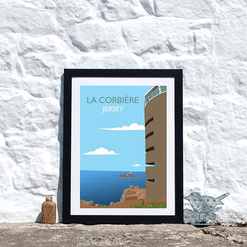 La Corbiere Radio Tower, Jersey Channel Islands