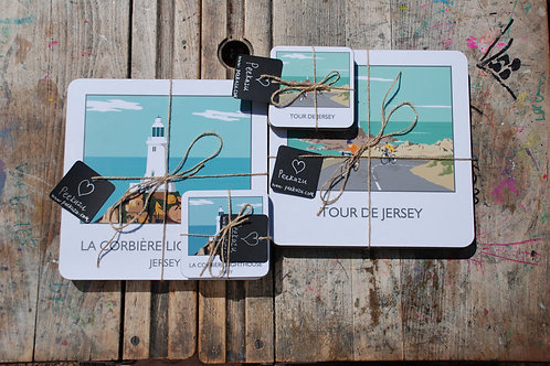 Jersey Coasters & Placemat selection