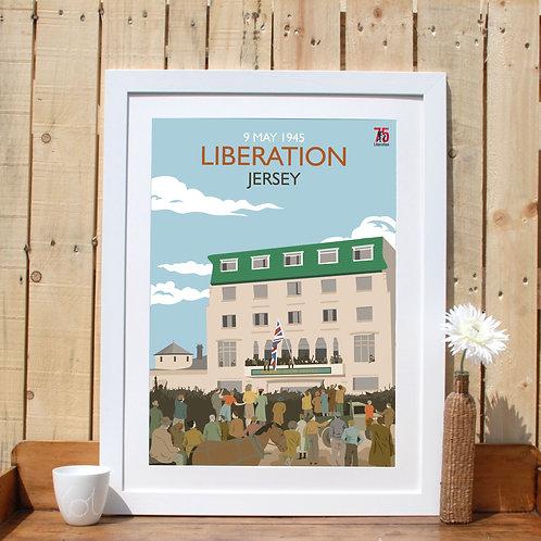 75th Liberation Jersey Print