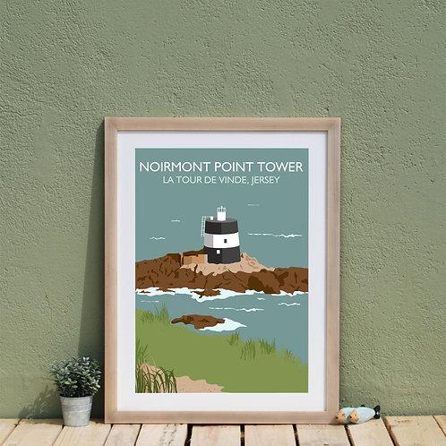 Noirmont Point Print Jersey