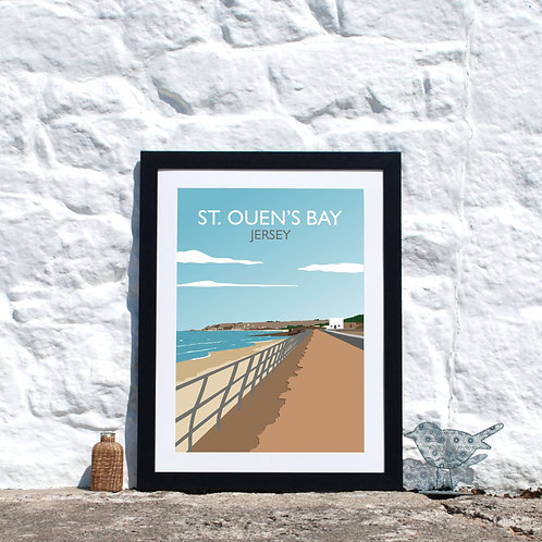 St Ouens Bay Print Jersey