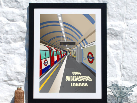 Camden Town London Underground