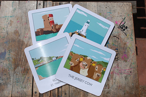 Jersey Placemats pack of 4