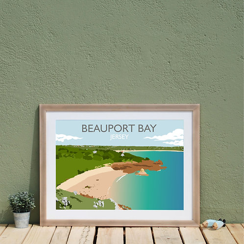 Print of Beauport Bay Jersey