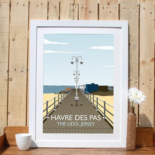 Havre Des Pas Print Jersey