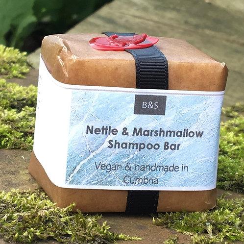 Bain & Savon Nettle and Marshmallow Shampoo Bar