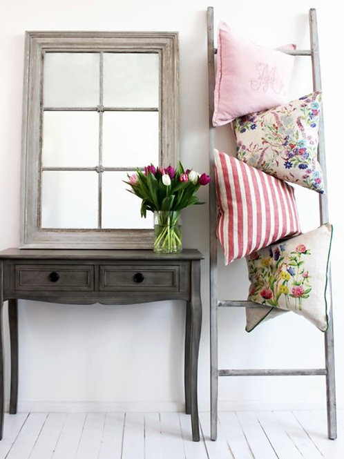 Grey Wash Wooden Display Ladder