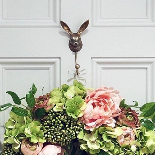 Metal Hare Rabbit Door Coat Hook