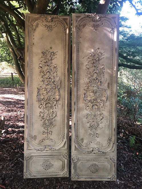 Pair of French Style Decorative Wall Panels