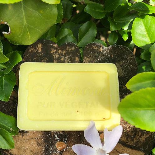 Savon de Marseille Soap 100g - Mimosa
