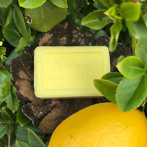 Savon de Marseille Soap 100g - Citron (Lemon)