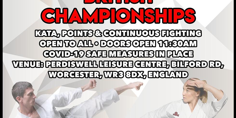 WUMA BRITISH CHAMPIONSHIPS 2021
