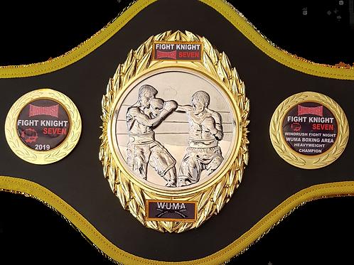 Boxing Title Belt