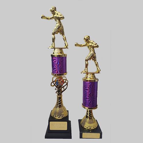 "14"" & 10"" Boxing Trophy Set"