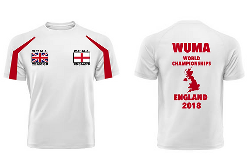 WUMA England Adult Competitor T-Shirt