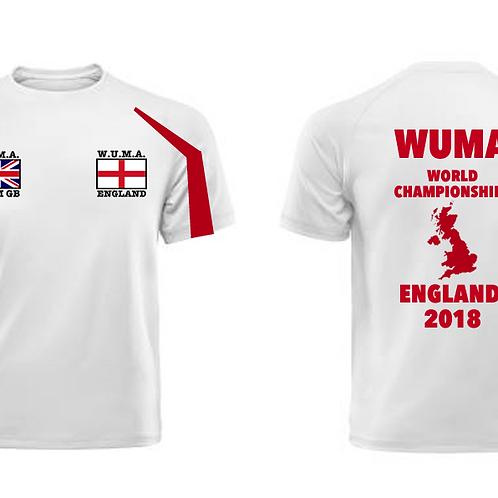 WUMA England Adult Competitor T-Shirt