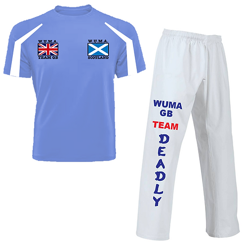 WUMA Worlds Scotland Competitor Uniform