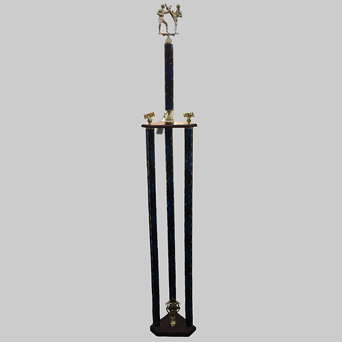 6 Foot LIGHT UP Three-Into-One Trophy