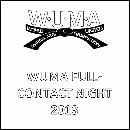 WUMA Full-Contact Night 2013