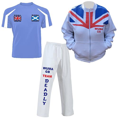 WUMA Worlds Scotland Competitor Uniform 2
