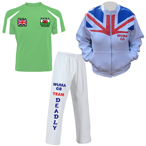 WUMA Worlds Wales Competitor Uniform 2