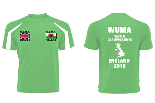 WUMA Wales Adult Competitor T-Shirt