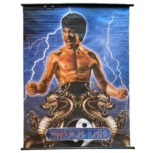 Bruce Lee Fabric Poster