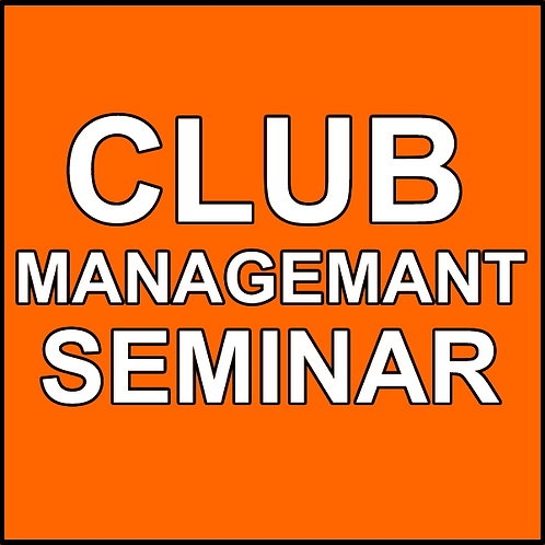 CLUB MANAGEMENT SEMINAR