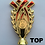 "Thumbnail: Gold Cup with Handles 120mm, 12"", 6"" Trophy Set"