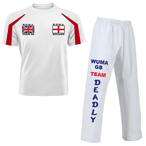 WUMA Worlds England Competitor Uniform
