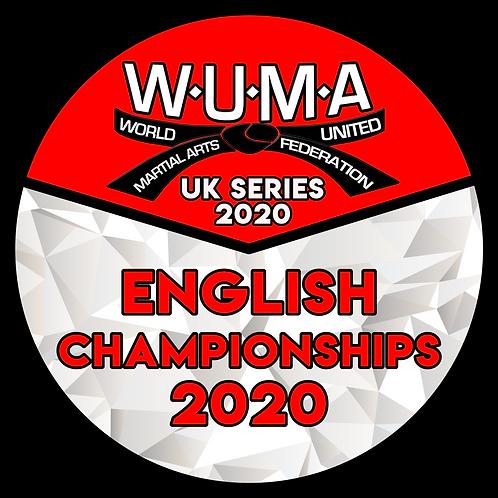 English Championships Pre-Registration 2020