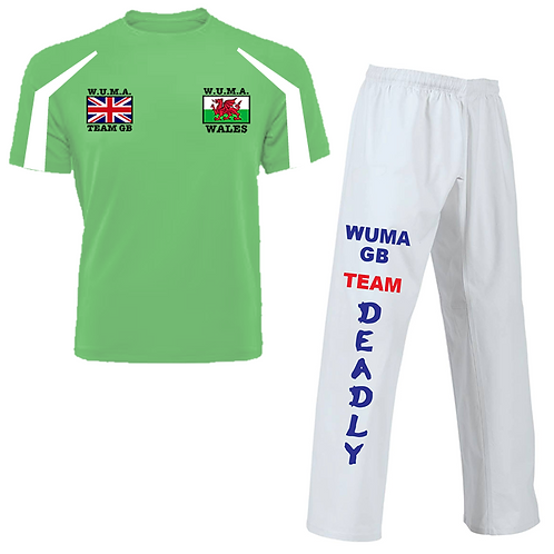 WUMA Worlds Wales Competitor Uniform