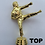 "Thumbnail: Gold Cup with Handles 100mm, 12"", 6"" Trophy Set"