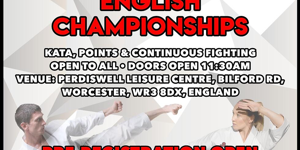 WUMA ENGLISH CHAMPIONSHIPS 2021