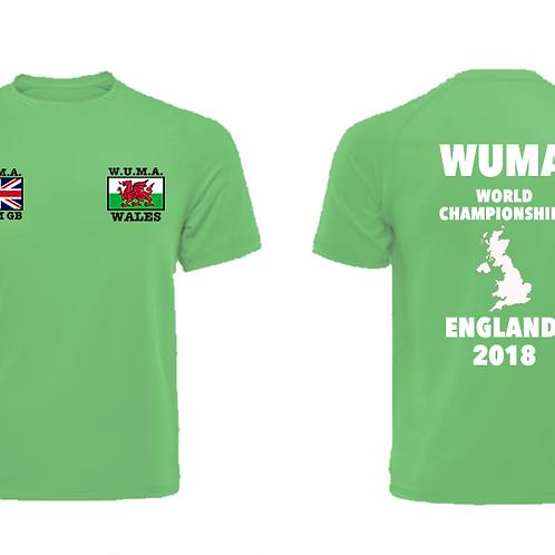 WUMA Wales Kids Competitor T-Shirt
