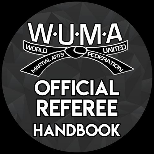 WUMA Official Referee Handbook Physical