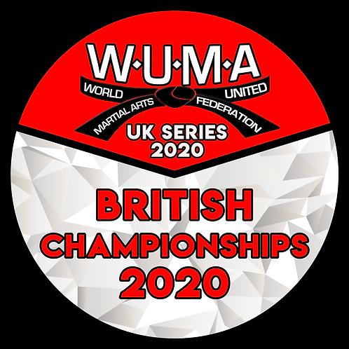 British Championships Pre-Registration 2020