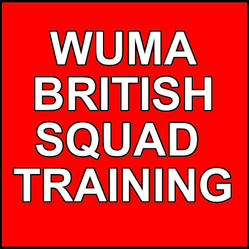 WUMA BRITISH SQUAD TRAINING REGISTRATION