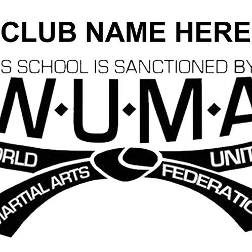WUMA Sanctioned Sign