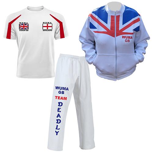 WUMA Worlds England Competitor Uniform 2