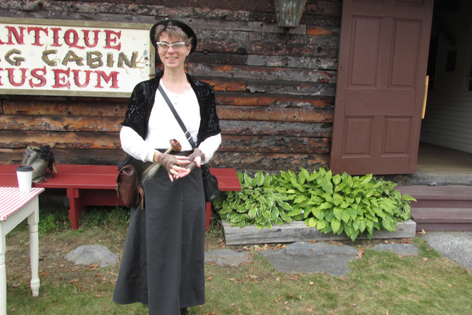 Summer In September - from Steampunk in Springfield to Antique Hill at the Tunbridge World's Fair