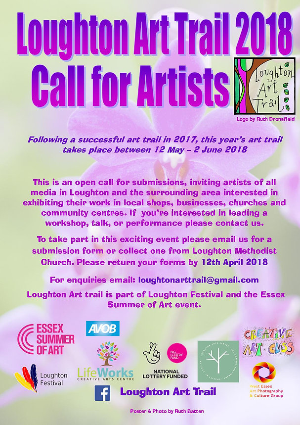 Call For Artists for the Loughton Art Trail