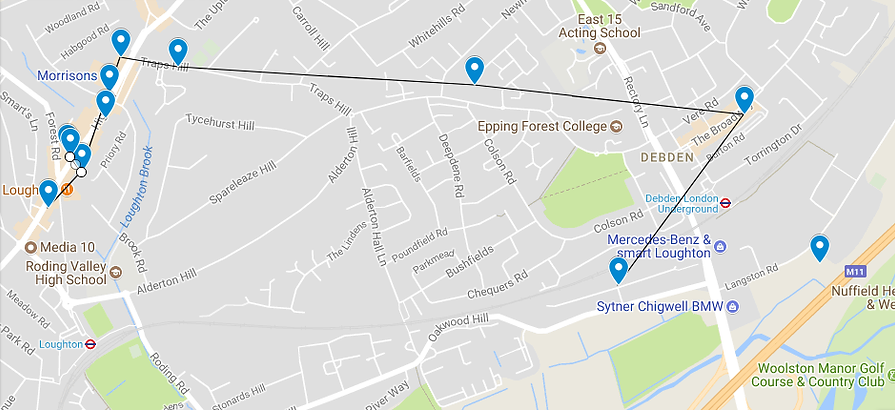 Loughton Art Trail Guide Map